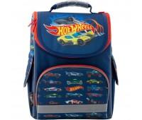 Рюкзак Kite Education Hot Wheels HW19-501S-1 школьный синий