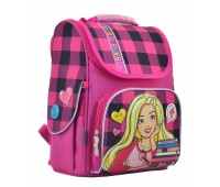 Рюкзак-ранец 1 вересня Barbie H-11  школьный розовый