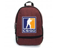 Рюкзак CS GO Counter-Strike (CSGO-004) бордовый