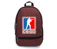 Рюкзак CS GO Counter-Strike (CSGO-006) бордовый