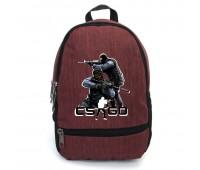 Рюкзак CS GO Counter-Strike (CSGO-008) бордовый