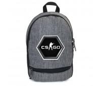 Рюкзак CS GO Counter-Strike (CSGO-001) серый
