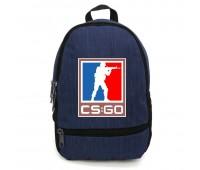 Рюкзак CS GO Counter-Strike (CSGO-006) синий