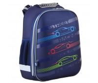 Рюкзак каркасный Yes Car H-12 школьный синий