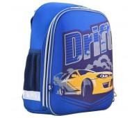 Рюкзак каркасный YES Drift H-12 школьный синий