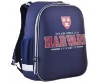 Рюкзак каркасный YES Harvard H-12-2 школьный синий