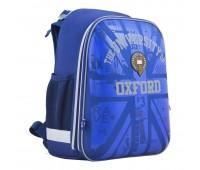 Рюкзак каркасный YES Oxford H-12 школьный синий
