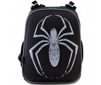 Рюкзак каркасный YES Spider H-12 школьный черный