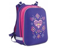 Рюкзак каркасный Yes Ornament  H-12 школьный фиолетовый