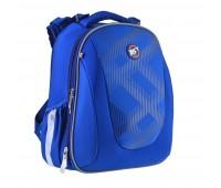Рюкзак каркасный YES Intensity H-28 школьный синий