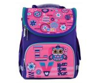 Рюкзак каркасный Smart Bright fantasy PG-11 школьный фиолетовый