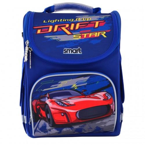 Рюкзак каркасный Smart Drift PG-11 школьный синий