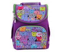 Рюкзак каркасный Smart Kotomania PG-11 школьный фиолетовый