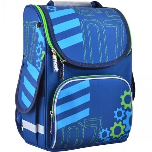 Рюкзак каркасный Smart Mechanic PG-11 школьный синий