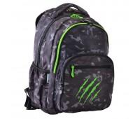 Рюкзак классический Yes Claw T-55 школьный серый