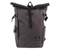 Рюкзак Smart Roll-top Khaki  T-69 подростковый хаки