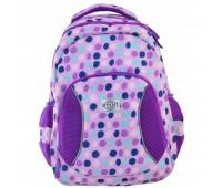 Рюкзак подростковый Smart Violet spots  SG-25 школьный фиолетовый