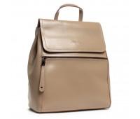 Рюкзак женский кожаный Alex Rai 03-01 1005 темный бежевый