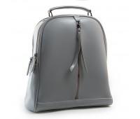 Рюкзак женский кожаный Alex Rai 03-01 8694-3 светлый серый