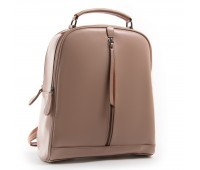 Рюкзак женский кожаный Alex Rai 03-01 8694-3 пудровый