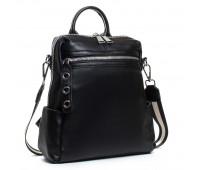 Рюкзак женский кожаный ALEX RAI 03-01 8781-9 черный