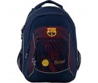 Рюкзак Kite FC Barcelona BC19-814M подростковый синий
