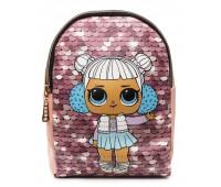 Рюкзак Cappuccino Toys L-pud-PP2 LOL для девочек пудровый