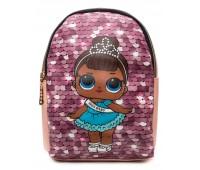 Рюкзак Cappuccino Toys L-pud-PP3 LOL для девочек пудровый