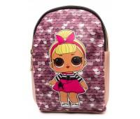 Рюкзак Cappuccino Toys L-pud-PP4 LOL для девочек пудровый