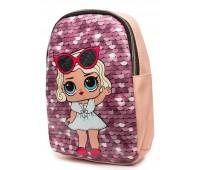 Рюкзак Cappuccino Toys L-pud-PP5 LOL для девочек пудровый