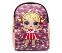 Рюкзак Cappuccino Toys L-pud-PP6 LOL для девочек пудровый