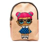 Рюкзак Cappuccino Toys L-pud-KP1 LOL для девочек пудровый