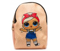 Рюкзак Cappuccino Toys L-pud-KP2 LOL для девочек пудровый