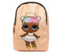 Рюкзак Cappuccino Toys L-pud-KP3 LOL для девочек пудровый