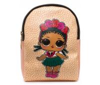 Рюкзак Cappuccino Toys L-pud-KP4 LOL для девочек пудровый