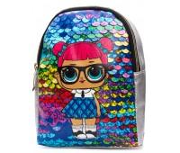 Рюкзак Cappuccino Toys L-silP2 LOL для девочек серебро
