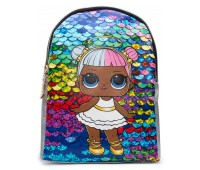 Рюкзак Cappuccino Toys L-silP3 LOL для девочек серебро
