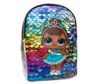 Рюкзак Cappuccino Toys L-silP4 LOL для девочек серебро