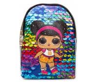 Рюкзак Cappuccino Toys L-silP5 LOL для девочек серебро