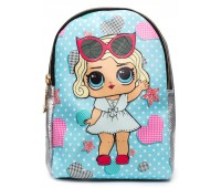 Рюкзак Cappuccino Toys L-silB2 LOL для девочек серебро