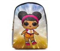 Рюкзак Cappuccino Toys L-silSh1 LOL для девочек серебро