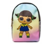 Рюкзак Cappuccino Toys L-silSh2 LOL для девочек серебро