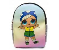 Рюкзак Cappuccino Toys L-silSh3 LOL для девочек серебро