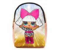 Рюкзак Cappuccino Toys L-pud-Sh1 LOL для девочек пудровый