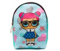 Рюкзак Cappuccino Toys L-m2 LOL для девочек мятный