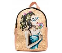 Рюкзак Cappuccino Toys COOL Fashion Girls-1 для девочек пудровый