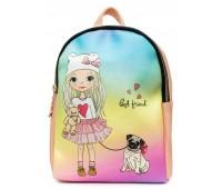 Рюкзак Cappuccino Toys COOL Fashion Girls-2 для девочек пудровый