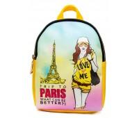Рюкзак Cappuccino Toys COOL Fashion Girls-6 для девочек желтый