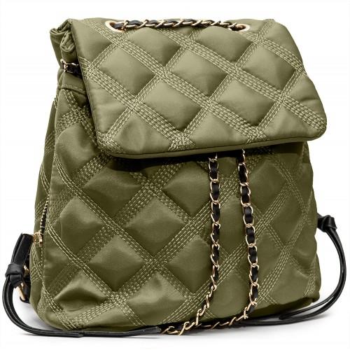 Рюкзак сумка Valensiy Steg-Khaki-01 женский хаки