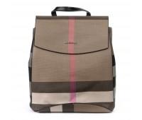 Рюкзак ALEX RAI 06-1 8504-8P женский бежевый